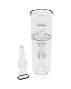 Il bong ad acqua per AirVape X raffredda molto di più il vapore
