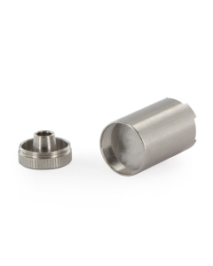 Lacapsula per concentratideve essere usata per vaporizzare concentrati come cere e olii con il vaporizzatoreFlowermate