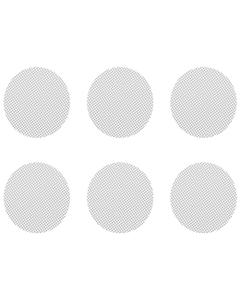 Questo set di retine normali piccole include 6 retine normali adatte a Crafty, Mighty e adattatori capsula di dosaggio