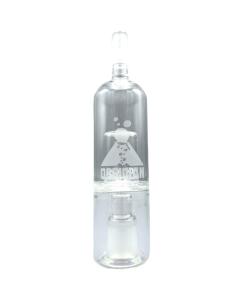 L'Obsidian Glass Bubbler rende il vapore più fluido da inspirare riducendo la temperatura e aumentando l'umidità